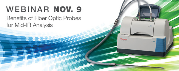 Webinar – Benefits of Fiber Optic Probes for Mid-IR Analysis